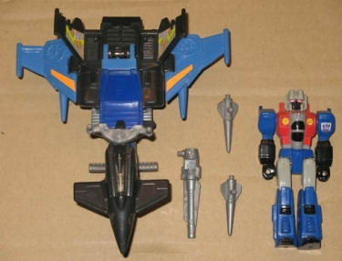 Starscream with Turbo Jet