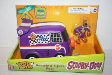 Race Team Van & Scooby Set