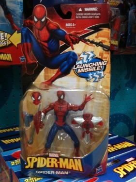 Launching Missile Spider-Man