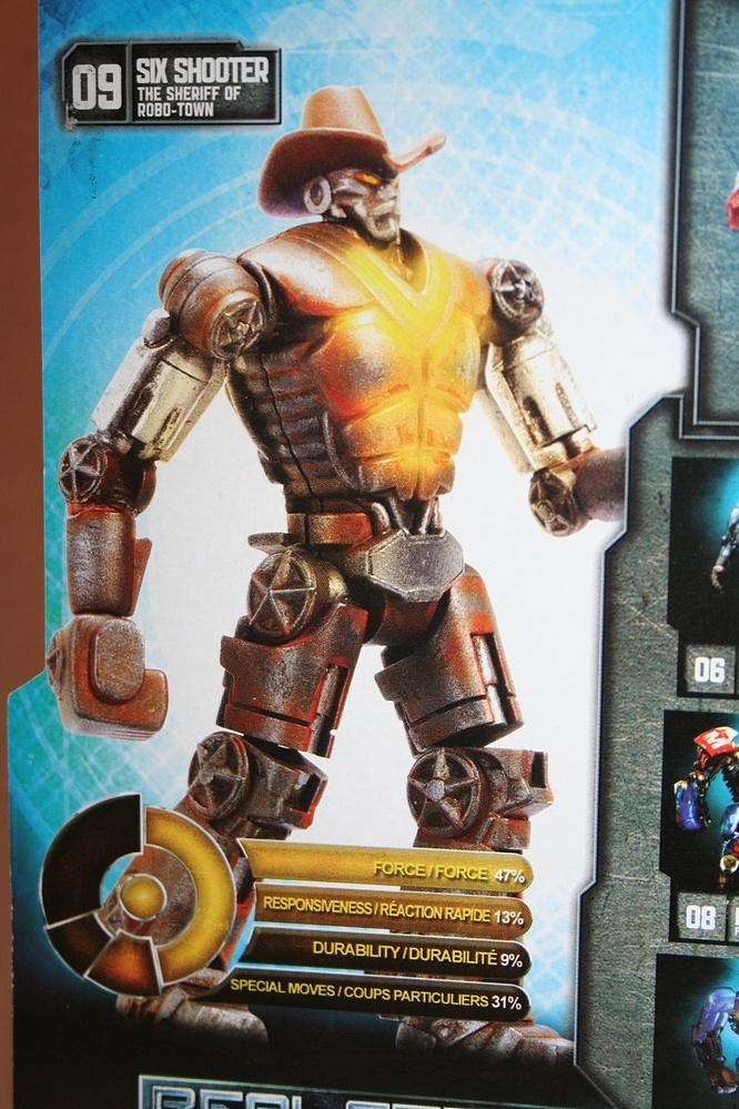 Six Shooter - Real Steel - Jakks Pacific - ToyFinity