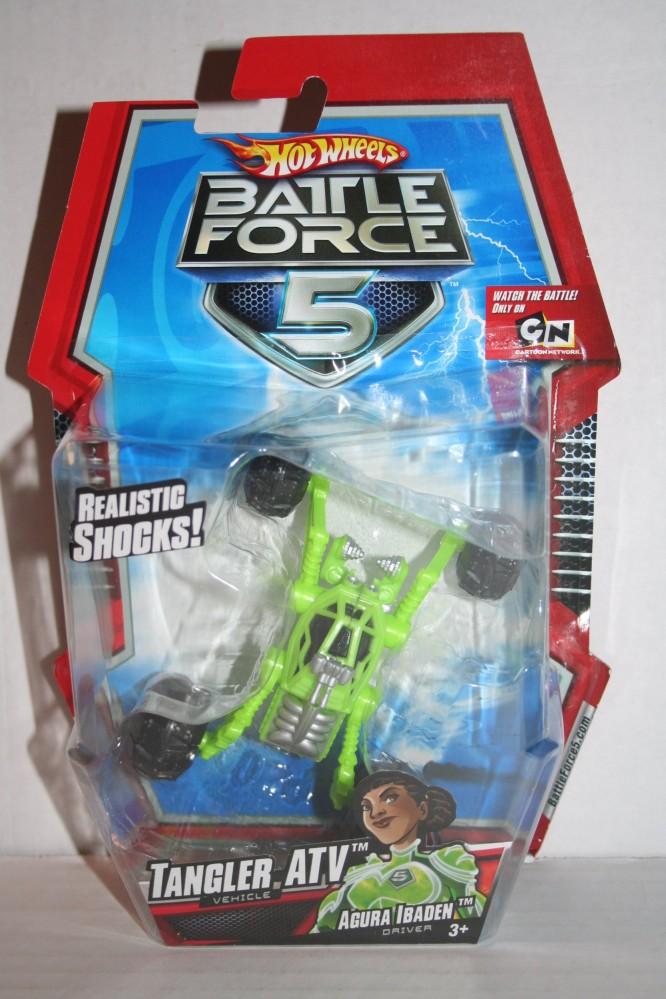 Tangler ATV with Agura Ibaden - Battle Force 5 - Mattel ...