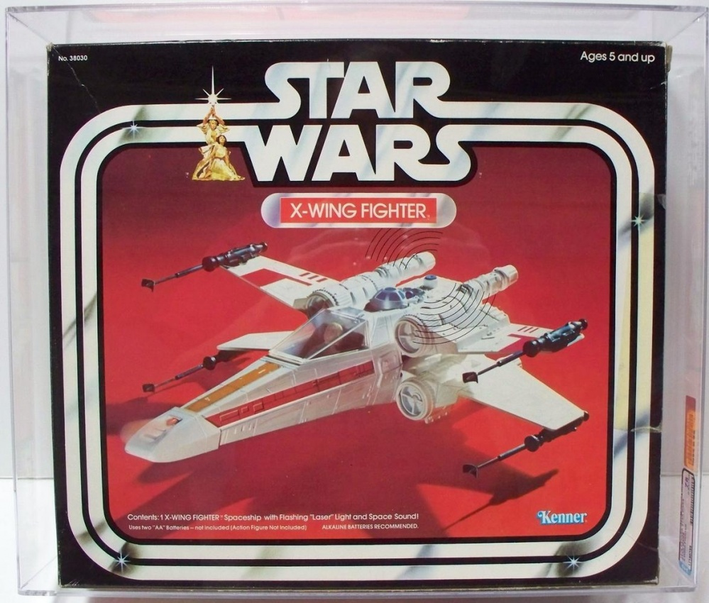1977 Star Wars X Wing Fighter In Box: X-Wing Fighter