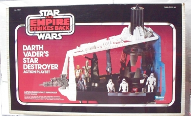 Darth Vader\'s Star Destroyer Action Playset