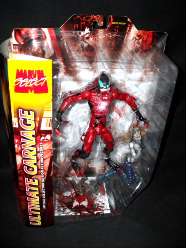 Ultimate Carnage - Marvel Select - Toy Biz - ToyFinityUltimate Carnage Marvel Select